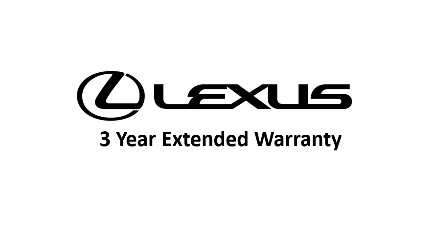 Factory Authorized – 3 Year Lexus Extended Warranty Plan