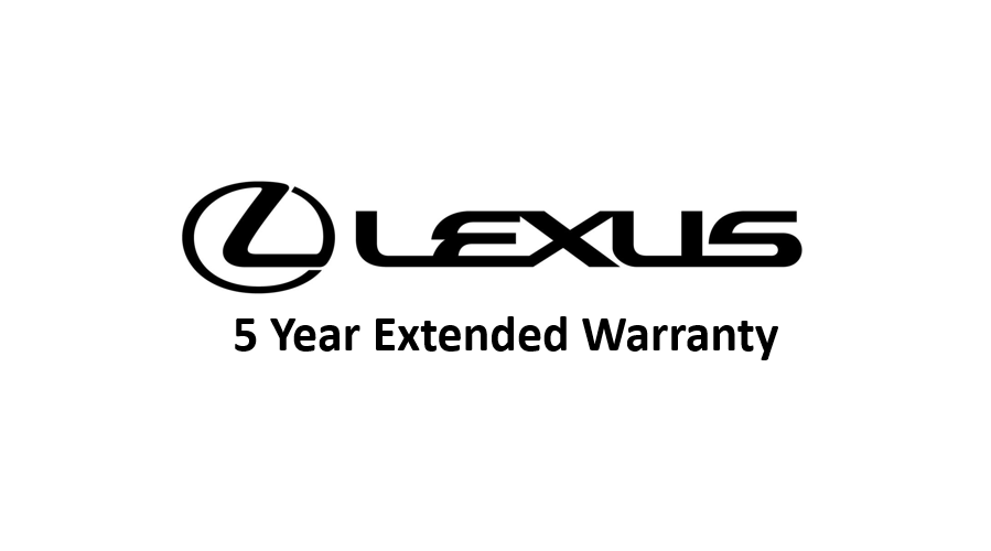 Factory Authorized – 5 Year Lexus Extended Warranty Plan